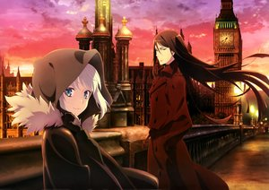 Rating: Safe Score: 35 Tags: blue_eyes building cape city clouds gray_hair gray_(lord_el-melloi_ii) lord_el-melloi_ii lord_el-melloi_ii_case_files male scan short_hair sky sunset tagme_(artist) User: RyuZU