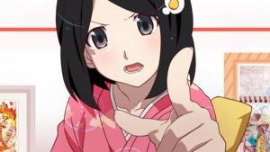 Rating: Safe Score: 29 Tags: araragi_tsukihi bakemonogatari black_hair close gray_eyes japanese_clothes monogatari_(series) nisemonogatari short_hair vector User: RyuZU