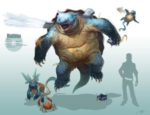 Rating: Safe Score: 104 Tags: arvalis blastoise krabby magikarp pokemon realistic shellder silhouette squirtle staryu tynamo wartortle watermark User: sideron22
