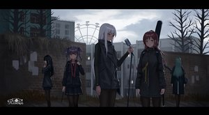 Rating: Safe Score: 44 Tags: bang_dream! building dark group guitar hikawa_sayo imai_lisa instrument microphone minato_yukina shirokane_rinko udagawa_ako yurichtofen User: FormX