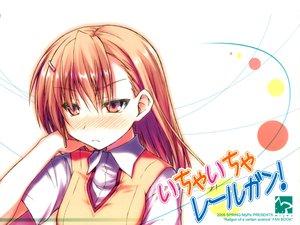 Rating: Safe Score: 46 Tags: blush misaka_mikoto mizoguchi_keiji orange_eyes orange_hair school_uniform short_hair to_aru_majutsu_no_index white User: w7382001