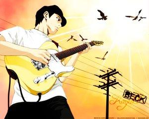 Rating: Safe Score: 13 Tags: animal beck bird guitar instrument tanaka_yukio User: Oyashiro-sama