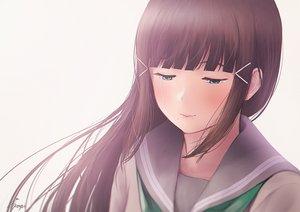 Rating: Safe Score: 28 Tags: aqua_eyes brown_hair close kurosawa_dia long_hair love_live!_school_idol_project love_live!_sunshine!! papi_(papiron100) seifuku signed tears User: RyuZU