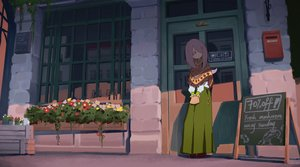 Rating: Safe Score: 57 Tags: flowers little_witch_academia long_hair pink_eyes purple_hair skirt sucy_manbavaran waterkuma User: RyuZU
