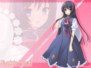 Rating: Safe Score: 31 Tags: flyable_heart itou_noiji seifuku shirasagi_mayuri User: HMX-999
