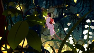 Rating: Safe Score: 51 Tags: black_hair forest illusionk japanese_clothes kimono leaves night original short_hair tree User: otaku_emmy