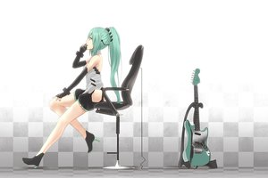Rating: Safe Score: 121 Tags: guitar hatsune_miku instrument nanaku_teiru vocaloid User: FormX