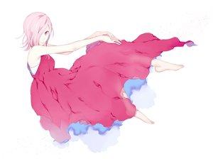 Rating: Safe Score: 38 Tags: barefoot dress one_piece pink_eyes pink_hair short_hair too_mizuguchi vinsmoke_reiju white User: FormX