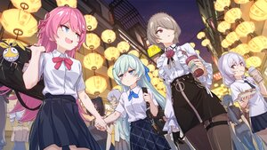 Rating: Safe Score: 68 Tags: aqua_hair black_hair blue_eyes blue_hair bronya_zaychik brown_hair drink food fu_hua gloves gray_eyes gray_hair group honkai_impact kiana_kaslana liliya_olenyeva long_hair murata_himeko night pantyhose pink_eyes ponytail raiden_mei red_eyes rita_rossweisse rozaliya_olenyeva school_uniform tagme_(artist) theresa_apocalypse twintails User: Nepcoheart