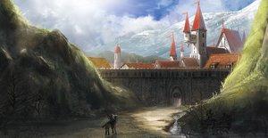 Rating: Safe Score: 78 Tags: animal bird building city hirokima horse landscape original scenic User: IchimaruSakai