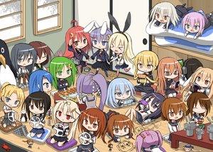 Rating: Safe Score: 102 Tags: akatsuki_(kancolle) animal_ears anthropomorphism arashio_(kancolle) bunny_ears bunnygirl cha_(kancolle) chibi fubuki_(kancolle) fumizuki_(kancolle) game_console group hatsuharu_(kancolle) hatsuyuki_(kancolle) hibiki_(kancolle) hiyoko_(kancolle) ikazuchi_(kancolle) kantai_collection kikuzuki_(kancolle) maikaze_(kancolle) majokko_(kancolle) midori_(kancolle) mochizuki_(kancolle) murasame_(kancolle) mutsuki_(kancolle) nagatsuki_(kancolle) rashinban_musume_(kancolle) rensouhou-chan samidare_(kancolle) satsuki_(kancolle) sazanami_(kancolle) shimakaze_(kancolle) shiranui_(kancolle) shirayuki_(kancolle) uzuki_(kancolle) yayoi_(kancolle) yuudachi_(kancolle) User: FPSJP