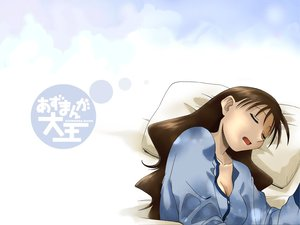 Rating: Safe Score: 9 Tags: azuma_kiyohiko azumanga_daioh pajamas sleeping tanizaki_yukari User: Oyashiro-sama