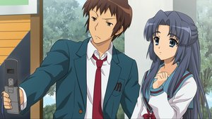 Rating: Safe Score: 9 Tags: asakura_ryouko game_cg kyon suzumiya_haruhi_no_tsuisou suzumiya_haruhi_no_yuutsu User: SciFi