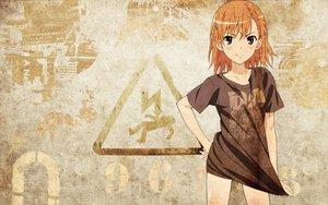 Rating: Safe Score: 134 Tags: blush brown_eyes misaka_mikoto orange_hair short_hair to_aru_kagaku_no_railgun to_aru_majutsu_no_index User: pantu