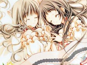 Rating: Safe Score: 26 Tags: 2girls konohana_hikari nanto_yaya sleeping strawberry_panic tagme User: Oyashiro-sama