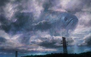 Rating: Safe Score: 84 Tags: animal city clouds fish kakotomirai_(harvester) original sky User: Flandre93