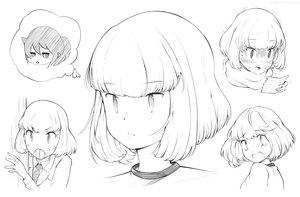 Rating: Safe Score: 27 Tags: blush frankseven kuroki_tomoko monochrome paper ponytail scarf school_uniform short_hair sketch tears tie uchi_emiri watashi_ga_motenai_no_wa_dou_kangaetemo_omaera_ga_warui! User: otaku_emmy