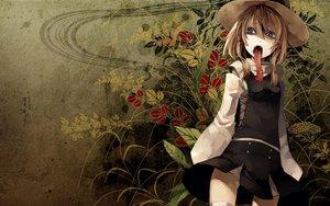 Rating: Safe Score: 50 Tags: blood flowers hiiragi_ryo moriya_suwako touhou User: rargy