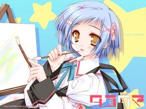Rating: Safe Score: 15 Tags: moekibara_fumitake takanashi_yumina tayutama User: kowarenai