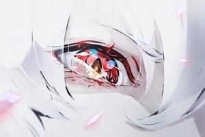 Rating: Safe Score: 52 Tags: close hoshizaki_reita original red_eyes User: FormX