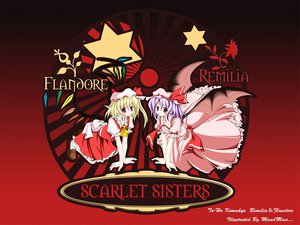 Rating: Safe Score: 11 Tags: 2girls flandre_scarlet remilia_scarlet touhou vampire User: Oyashiro-sama