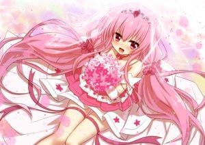 Rating: Safe Score: 28 Tags: anthropomorphism blush choker dress flower_knight_girl flowers garter hanamomo_(flower_knight_girl) headdress loli long_hair mizunashi_(second_run) pink_eyes pink_hair ribbons twintails User: otaku_emmy