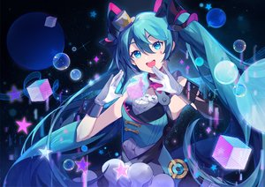Rating: Safe Score: 33 Tags: hatsune_miku magical_mirai_(vocaloid) vocaloid yayako_(804907150) User: FormX