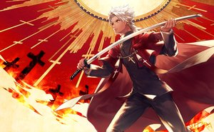 Rating: Safe Score: 9 Tags: all_male fate/apocrypha fate_(series) male neopara shirou_kotomine User: RyuZU