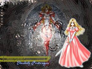 Rating: Safe Score: 8 Tags: elizabeth_pandragon sword taka_tony tempest weapon User: Oyashiro-sama