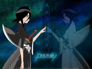 Rating: Safe Score: 1 Tags: black_hair bleach kuchiki_rukia reflection short_hair sword weapon User: Oyashiro-sama