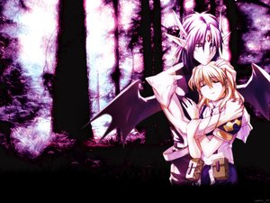 Rating: Safe Score: 5 Tags: chrno chrono_crusade horns nun pointed_ears rosette_christopher wings User: Oyashiro-sama