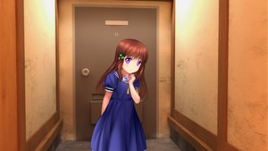 Rating: Safe Score: 25 Tags: brown_hair loli moonknives original purple_eyes User: gnarf1975