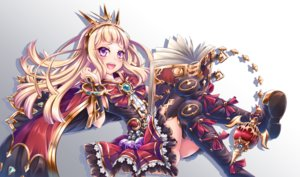 Rating: Safe Score: 33 Tags: aliasing ass blonde_hair blush book boots bow cagliostro_(granblue_fantasy) cape dress gradient granblue_fantasy headdress long_hair miyabi_urumi pink_eyes thighhighs User: RyuZU