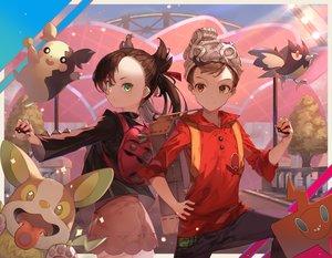 Rating: Safe Score: 18 Tags: cynd male mary_(pokemon) masaru_(pokemon) morpeko pokemon rookidee yamper User: Dreista