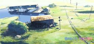 Rating: Safe Score: 62 Tags: building grass kumo_no_mukou_yakusoku_no_basho landscape nobody scenic water User: 秀悟