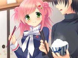 Rating: Safe Score: 33 Tags: food game_cg green_eyes sakura_no_reply tsukimori_chiyoko User: Maboroshi