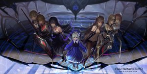 Rating: Safe Score: 74 Tags: armor group hc jpeg_artifacts loli original pixiv_fantasia sword weapon User: RyuZU