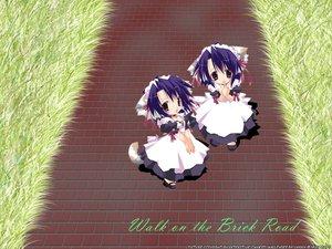 Rating: Safe Score: 3 Tags: chibi maid tagme User: Oyashiro-sama