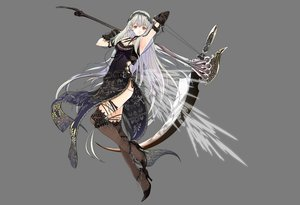Rating: Safe Score: 93 Tags: dress gray long_hair scythe stockings tagme thighhighs weapon white_hair User: Maboroshi