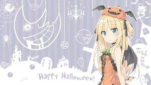 Rating: Safe Score: 201 Tags: animal bat blonde_hair blue_eyes blush choker clannad cross crossover dangan-ronpa dango_(clannad) dress gengar halloween jigoku_shoujo kaonashi kyuubee loli mahou_shoujo_madoka_magica monokuma moon original peko pokemon pumpkin ribbons sen_to_chihiro_no_kamikakushi shimotsuki_potofu shirakawa_kona silhouette soul_eater super_mario third-party_edit twintails umbrella wings User: Dummy