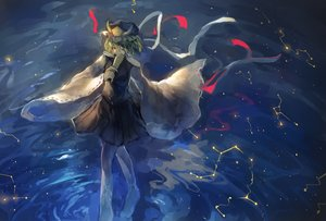 Rating: Safe Score: 56 Tags: hat nazoko shikieiki_yamaxanadu skirt touhou water User: Flandre93