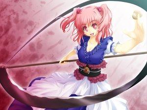 Rating: Safe Score: 31 Tags: akashio onozuka_komachi scythe touhou weapon User: konstargirl