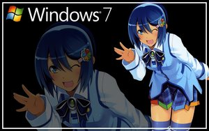 Rating: Safe Score: 16 Tags: blue_eyes blue_hair bow madobe_nanami microsoft os-tan short_hair skirt thighhighs windows wink zoom_layer User: Kumacuda