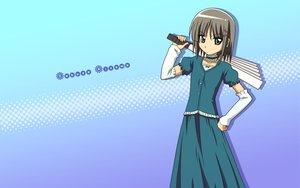 Rating: Safe Score: 21 Tags: aizawa_sakuya brown_hair green_eyes hayate_no_gotoku short_hair skirt User: HawthorneKitty