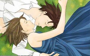 Rating: Safe Score: 20 Tags: chiaki_shinichi noda_megumi nodame_cantabile sleeping vector User: Oresund
