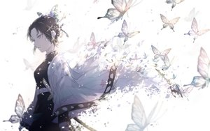 Rating: Safe Score: 72 Tags: butterfly kimetsu_no_yaiba kochou_shinobu sugata_(chin8751) User: FormX