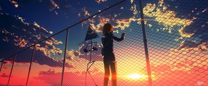 Rating: Safe Score: 44 Tags: clouds original scenic sky skybase sunset User: RyuZU