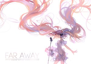 Rating: Safe Score: 116 Tags: dress hatsune_miku kklaji008 long_hair microphone twintails vocaloid User: Flandre93