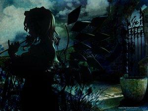 Rating: Safe Score: 53 Tags: dark flandre_scarlet night touhou vampire User: Oyashiro-sama