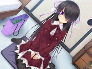 Rating: Safe Score: 99 Tags: dress game_cg hazuki_mikuri headdress sakura_no_reply User: Maboroshi
